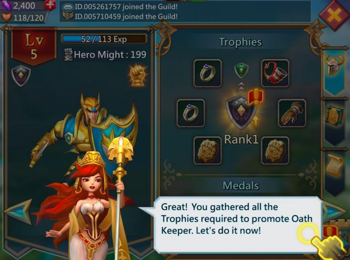 Lords Mobile' Beginners Guide: On Heroes, Guilds, Quests