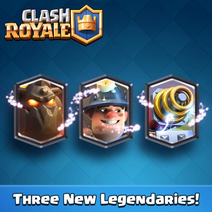 new clash royale cards may update leaks sneak peek lava hound furnace, fire spirits guard miner sparky legendary cards