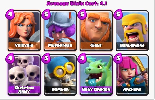 Best Clash Royale Decks Arena 4 7 5 Good Decks And