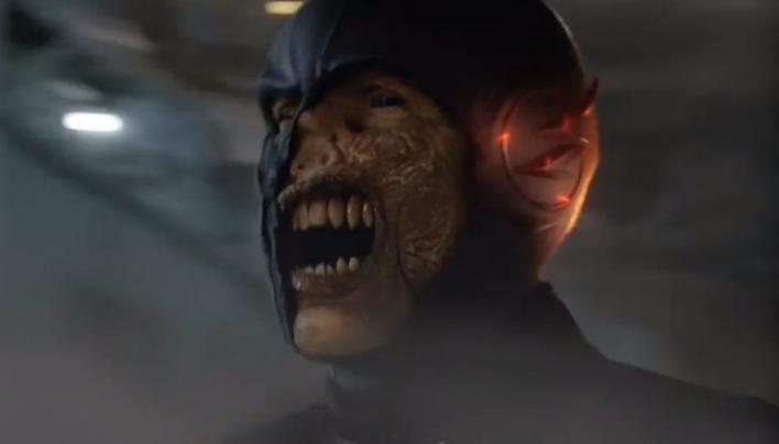 the flash season 3 zoom actor confirms he s now black flash and
