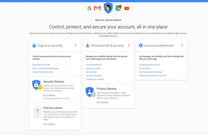 how to find my google account