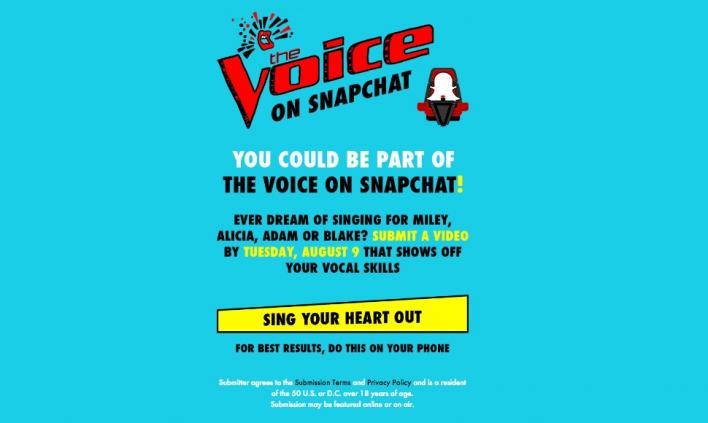 the voice snapchat voicesnaps voice snap how to enter competition
