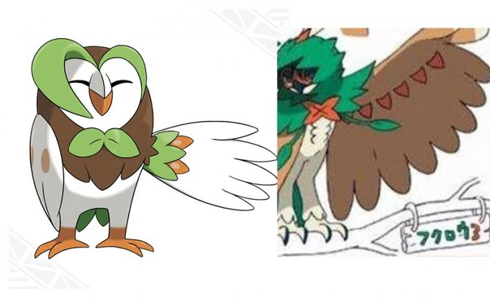 dartrix final evolution pokemon sun and moon