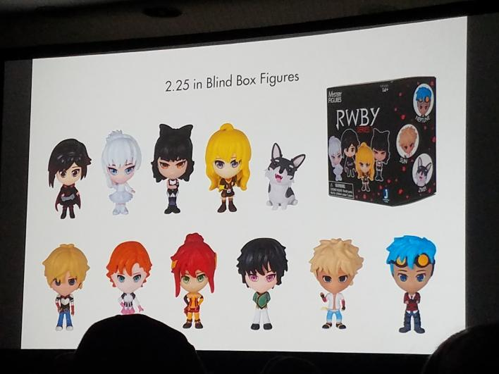 RWBY' Volume 4 Intro, Footage And New Figures Shown At New