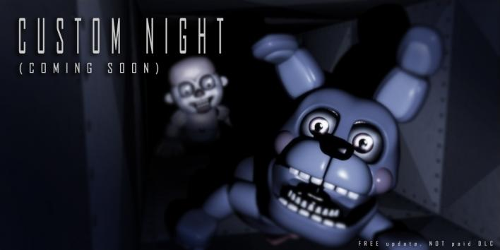 'Five Nights At Freddy's: Sister Location' custom night teaser