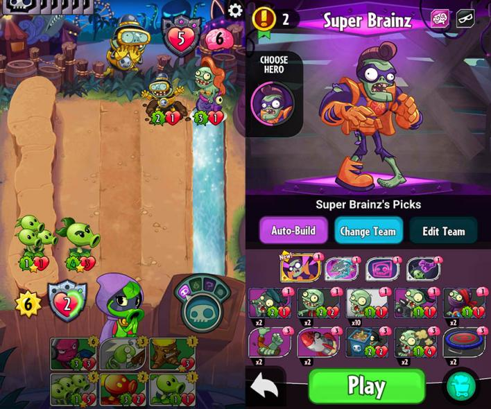 Plants vs Zombies Heroes' Guide: Deck Building Strategy And