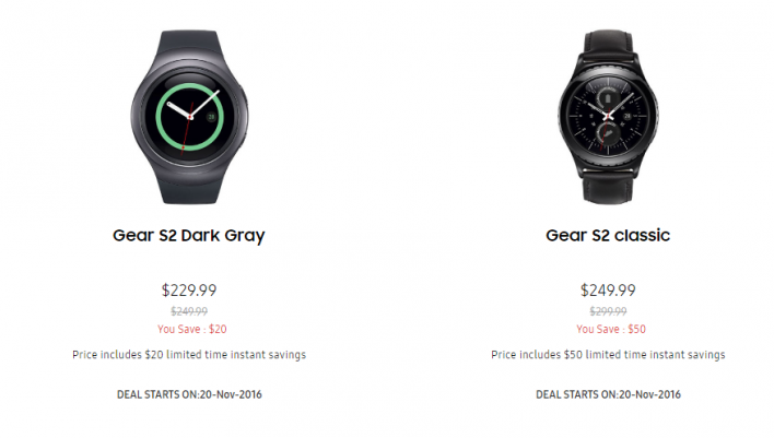samsung black friday wearables