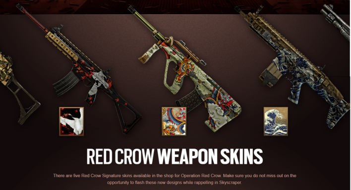 Rainbow Six Siege Red Crow Patch Notes Capitao And