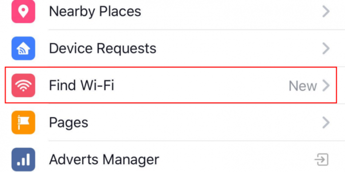 facebook free wifi find wi-fi finder app tool ios android how to get how to use