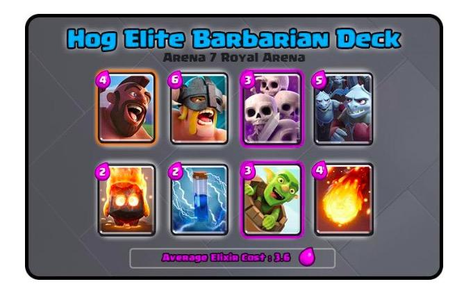 Best Clash Royale Decks Arena 7 Elite Barbarian Deck And Strategy Guide Player One