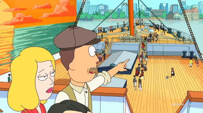 China Copying Rick And Morty Episodes Titanic Recreation Under Construction For All You