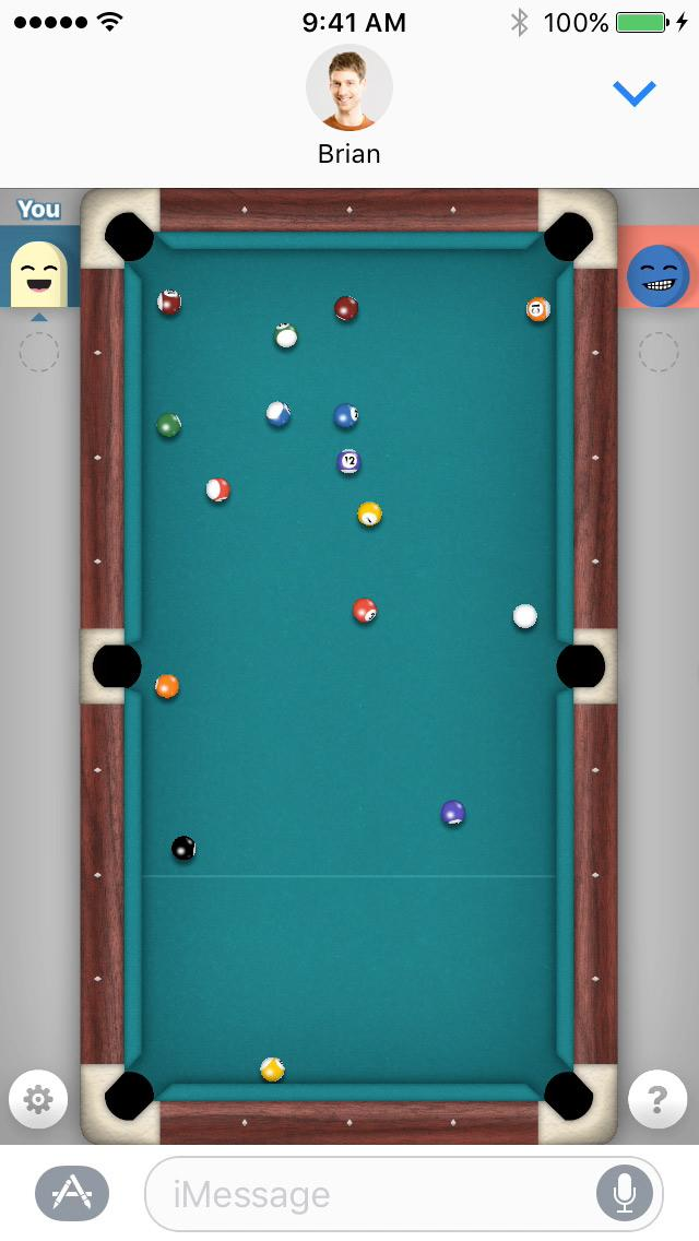 billard imessage