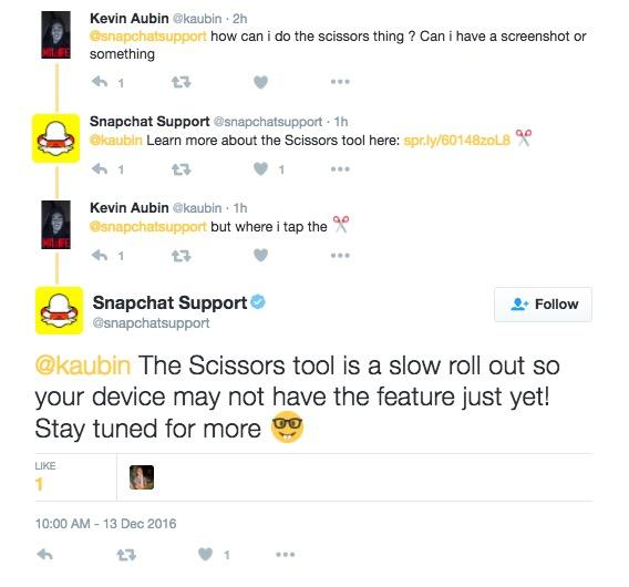 How To Make Snapchat Group Chat, Use Scissors, Paintbrush