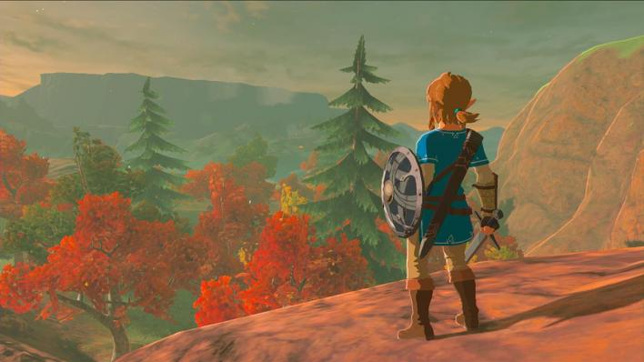 'The Legend Of Zelda: Breath Of The Wild' fall