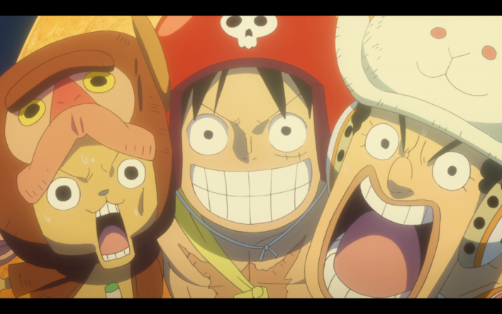 one piece film gold luffy and the crew