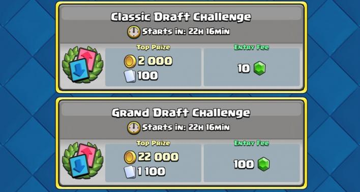 clash royale draft challenge begin prizes how to play strategy tips tricks January 10 - 23 friendly battles