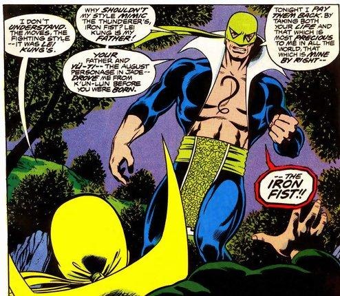 steel serpent iron fist danny rand