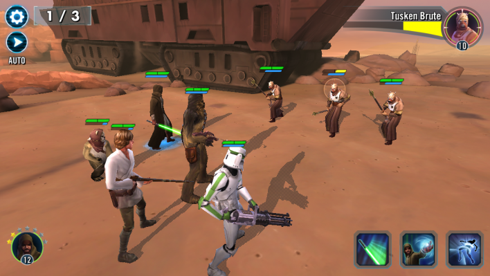 Star Wars: Galaxy Of Heroes' Guide - How To Farm Characters