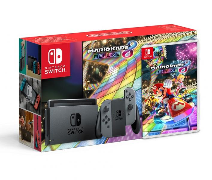 Nintendo switch 39 mario kart 8 deluxe 39 bundle leaked by official russian site player one - Mario kart 8 console bundle ...