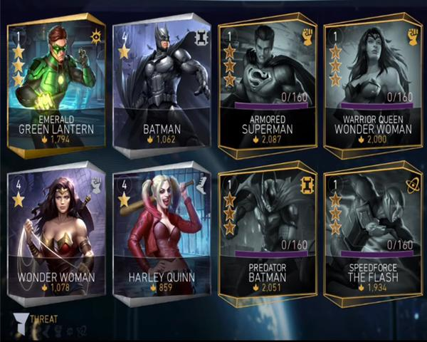 injustice 2 roster complete character list full mobile dlc leaked ultimate edition iOS android playstation xbox one