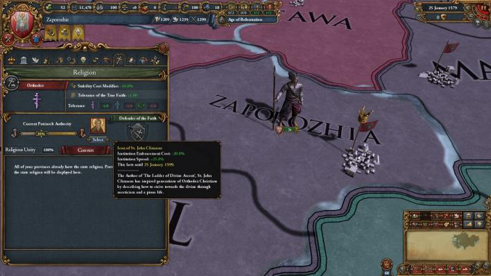 Europa Universalis 4: Third Rome' DLC Features: A Massive Russia