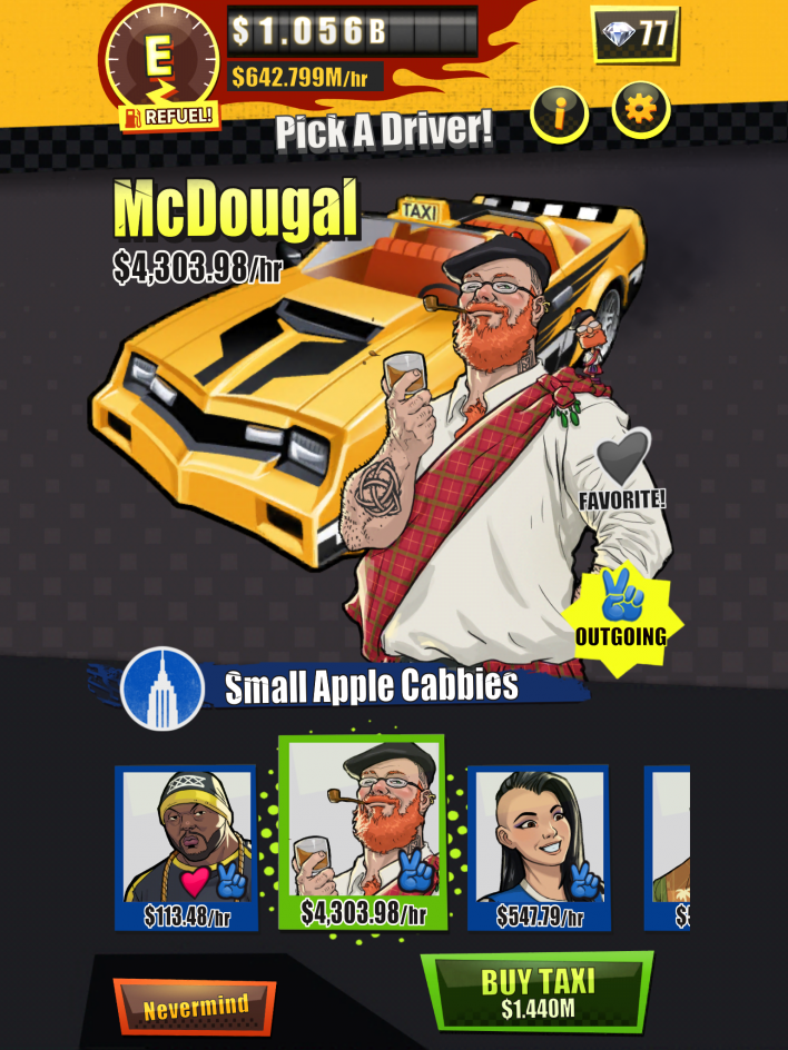 Crazy Taxi Gazillionaire' Tips & Cheats Guide: On Choosing