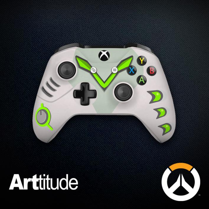 genji custom overwatch controller arttitude blizzard ps4 playstation 4 xbox one