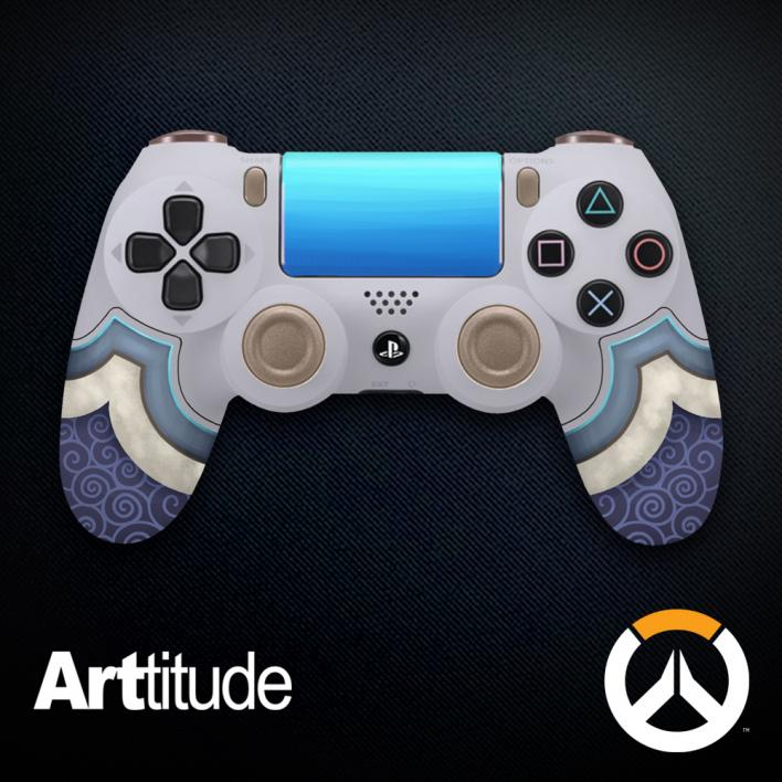 mei custom overwatch controller arttitude blizzard ps4 playstation 4 xbox one