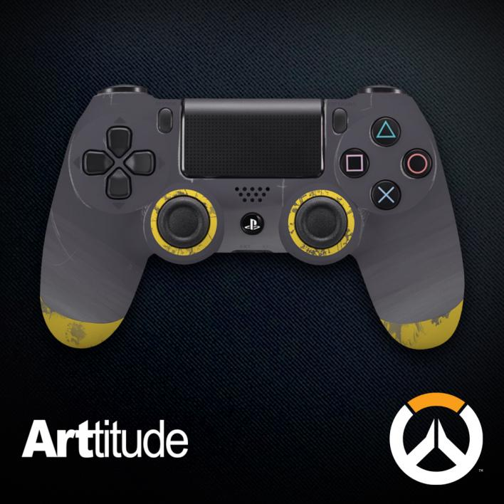 roadhog custom overwatch controller arttitude blizzard ps4 playstation 4 xbox one