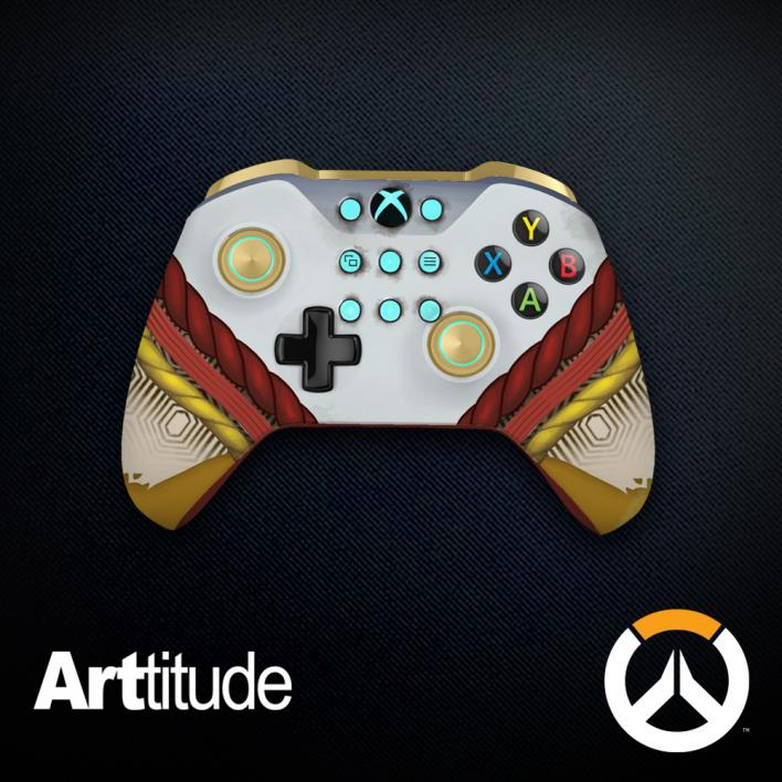 zenyatta custom overwatch controller arttitude blizzard ps4 playstation 4 xbox one