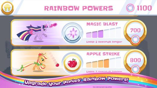 my little pony rainbow runners game iOS android platformer games like mario run