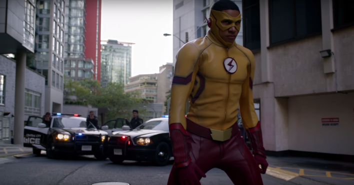 Thank Keiynan Lonsdale For Kid Flash S New Look Player One