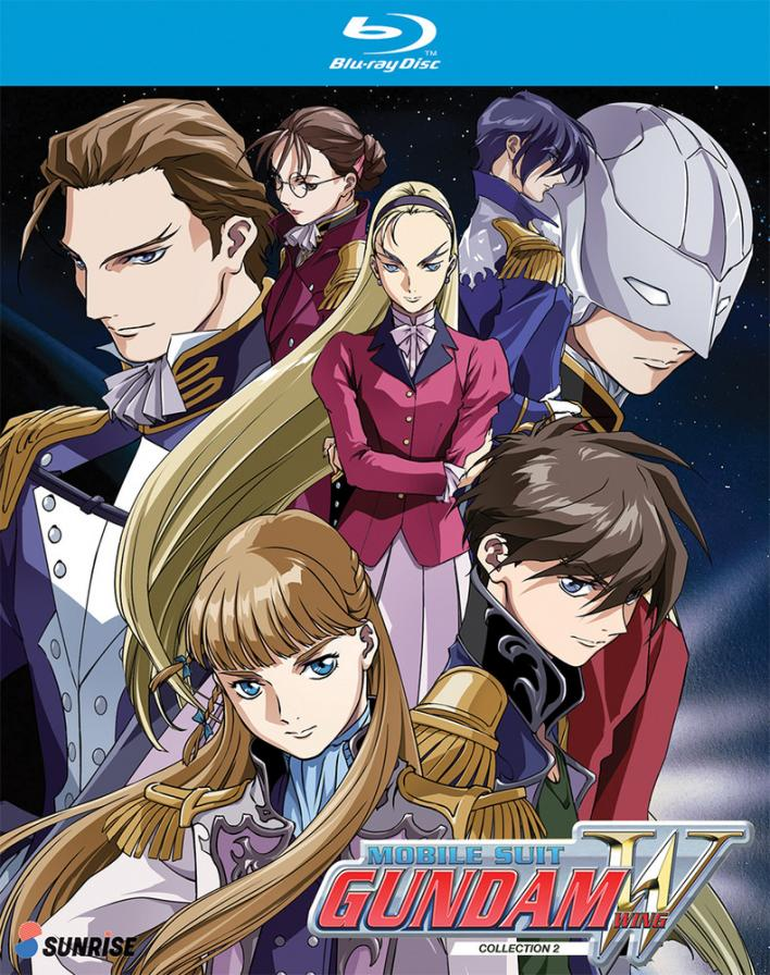 anime mobile suit gundam wing blu-ray collection 2 primary