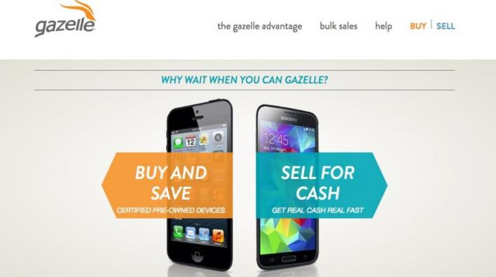 Gazelle Sell Iphone