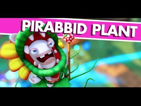 pirabbid plant mario rabbids kingdom battle mid boss
