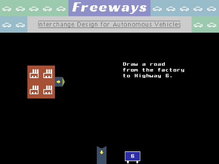 freeways game mobile traffic engineer review iOS android windows itch.io