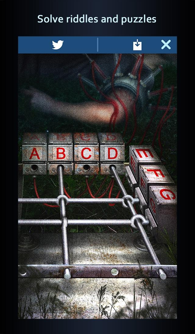 sender unknown the woods mobile game text adventure horror thriller iOS android review