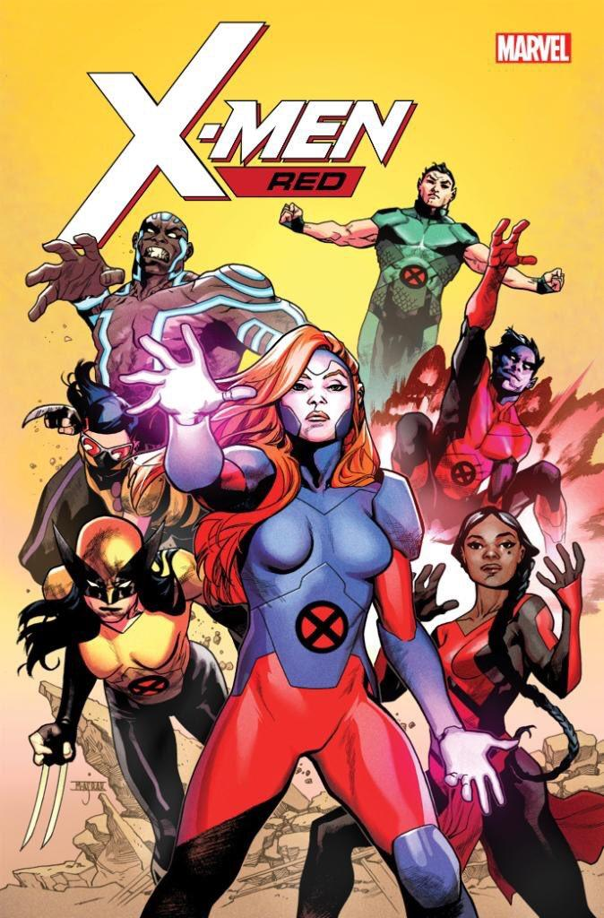 x-men red team cover