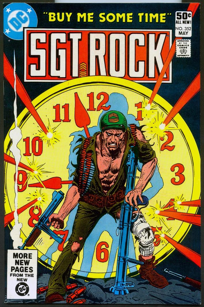Doomsday Clock 2 Sgt Rock Latest Unforeseen Addition To