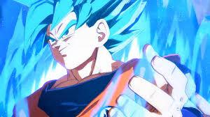 ssb goku dragon ball fighterz