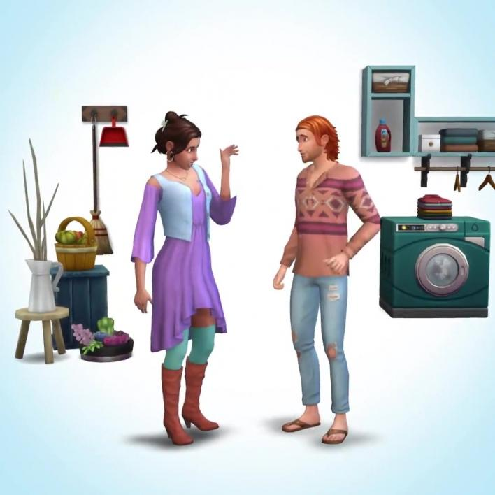 sims 4 laundry stuff pack