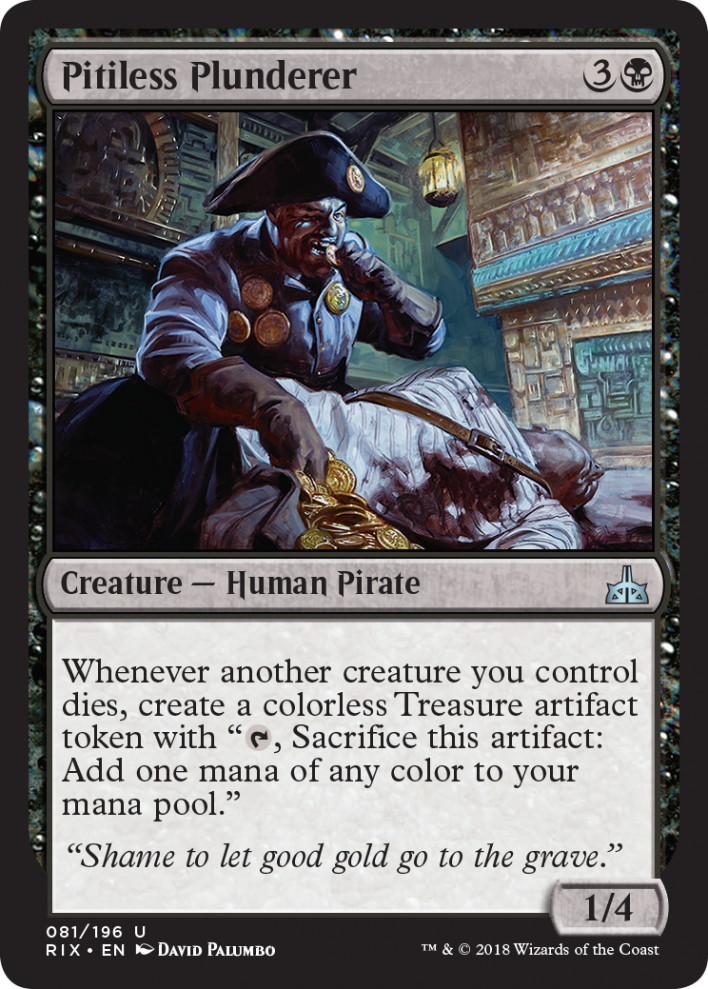 RIX] Pitiless Plunderer : EDH