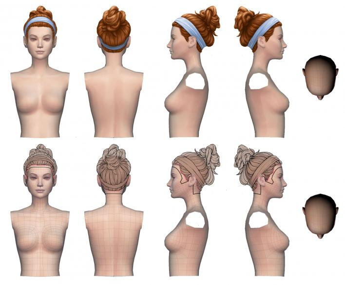 Sims 4 Hairstyle Design Process Detailed By Producer