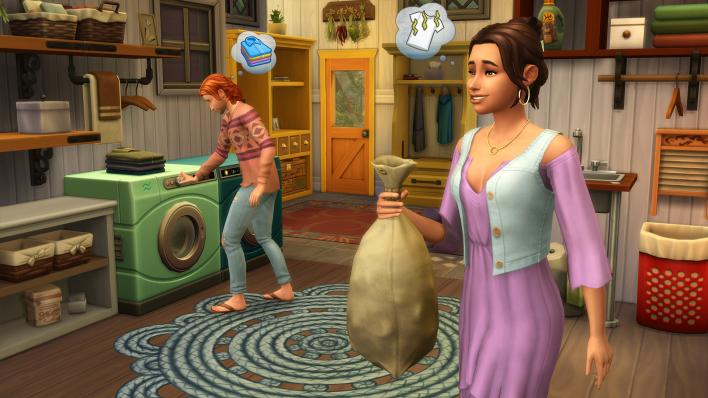 Sims 4: Laundry Day Stuff Review: The DLC Literally Everyone