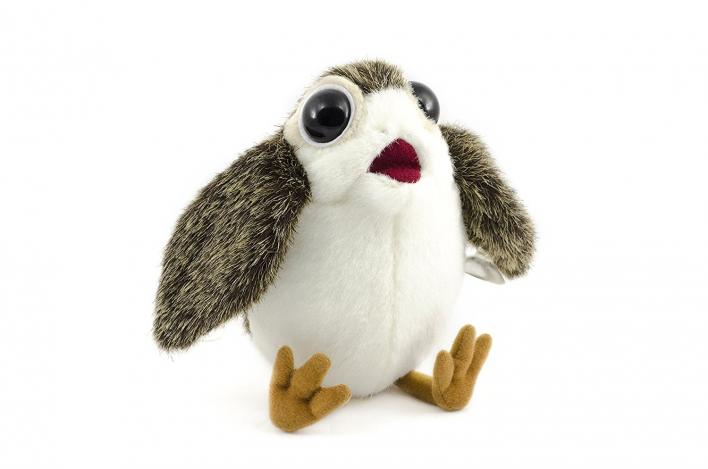 on the hunt for the cutest porg plush toys