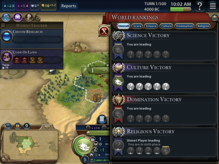 how to find religion civ 6