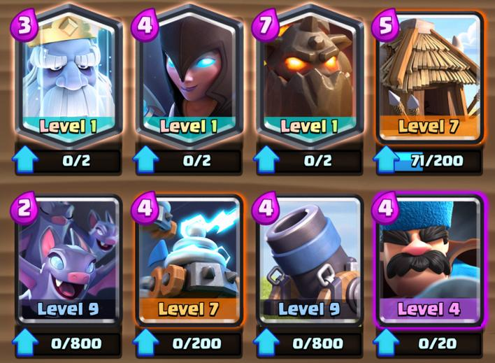 clash, royale, January, 2018, balance, changes, update, leaks, cards, buffed, nerfed, royale, ghost, bats, zappers, hunter, supercell