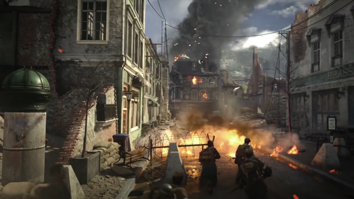 Call of Duty: WWII The Resistance trailer details new multiplayer maps