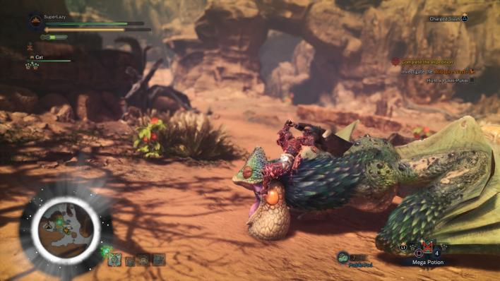Monster Hunter: World - Mounted Attack