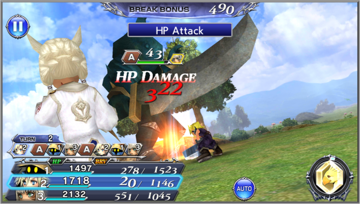 DFFOO Battle